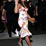 Ashanti brought her best floral look in 2006.