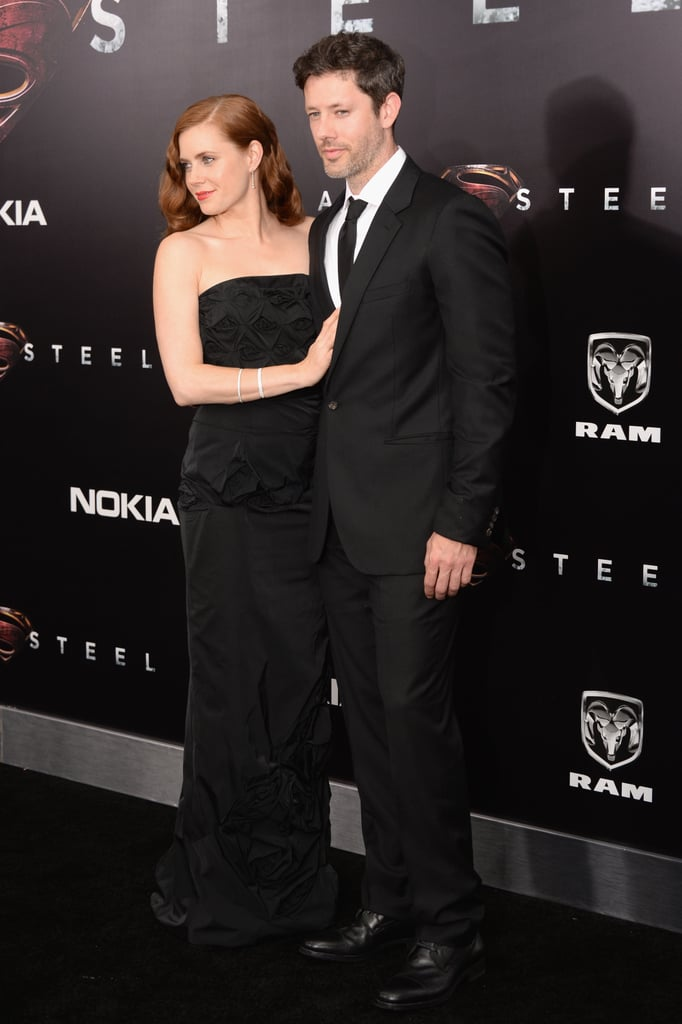 Amy Adams Juggles Multiple Leading Men at Man of Steel's NYC Premiere