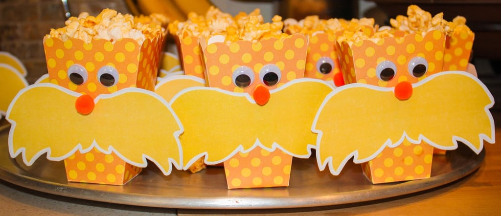 Lorax Popcorn Boxes