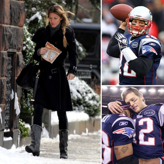 Gisele Bundchen Pictures Before Tom Brady's AFC Win