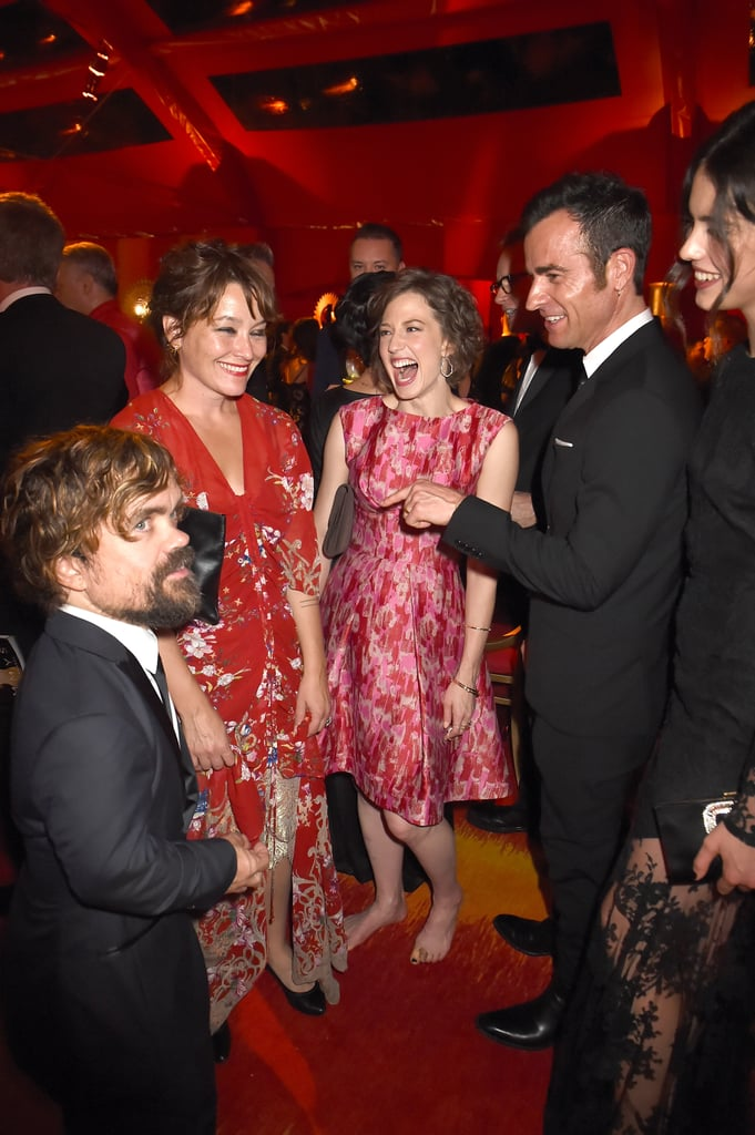 Peter Dinklage and Justin Theroux