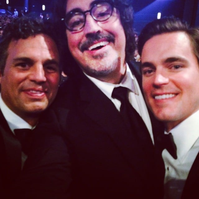 "Mark Ruffalo was part of what he called ""The Winners Circle,"" which included Matt Bomer and Alfred Molina."