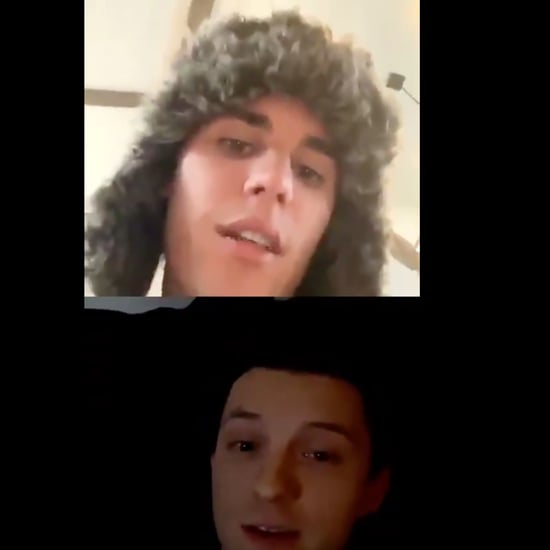 Justin Bieber and Tom Holland First Meet on Instagram Live