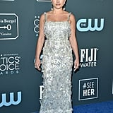 Florence Pugh at the 2020 Critics' Choice Awards