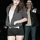 Kristen Stewart and her dad attended a Florence and the Machine concert together in LA.