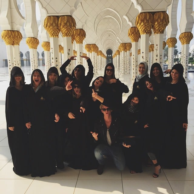 This Is How the Fashion Crowd Does Dubai
