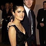 Then-couple Edward Norton and Salma Hayek arrived together in 2003.