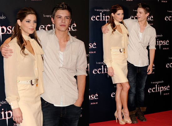 Ashley Greene, David Slade and Xavier Samuel Promoting Eclipse in Madrid 2010-06-28 18:30:22