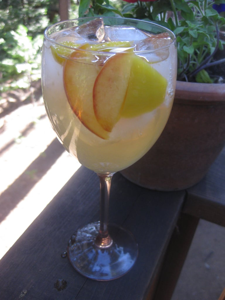 Peach and Mango Sangria