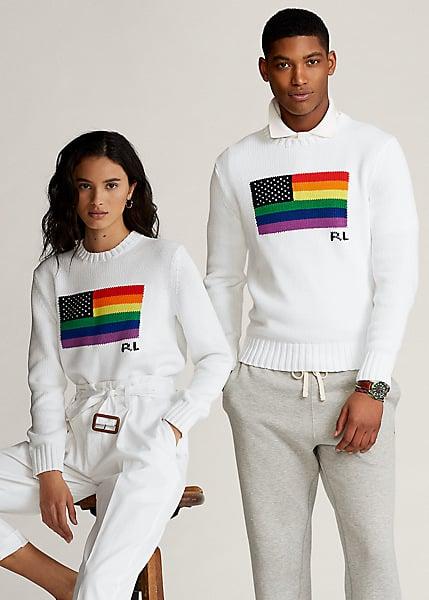 Ralph Lauren Pride Cotton Sweater