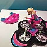 In a new movie coming this Fall, Barbie the space explorer rides her hover board to save the day, and your child will be able to relive the movie scenes and spend hours of fun with this remote-control RC Hover Board.