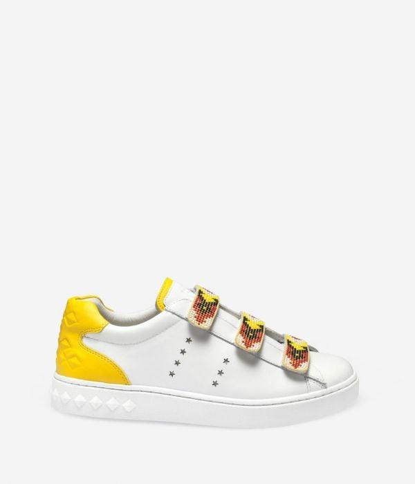 Ash Pharell Yellow Sneakers