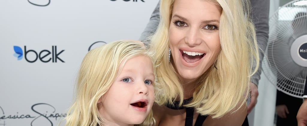Jessica Simpson's Daughter Is Pretty Much a Pint-Size Version of Her Famous Mom