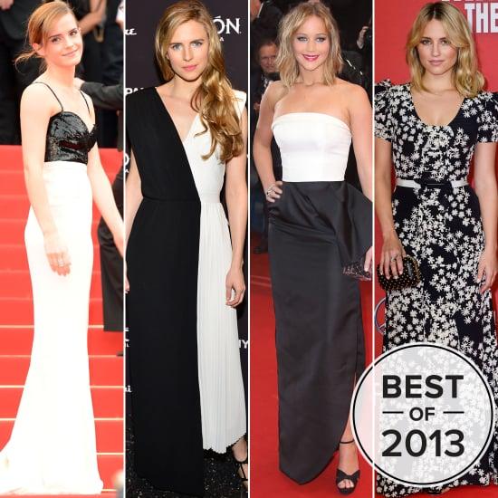 Black and White Red Carpet Dresses | POPSUGAR Fashion Australia