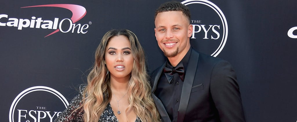 Stephen and Ayesha Curry at the 2017 ESPYs