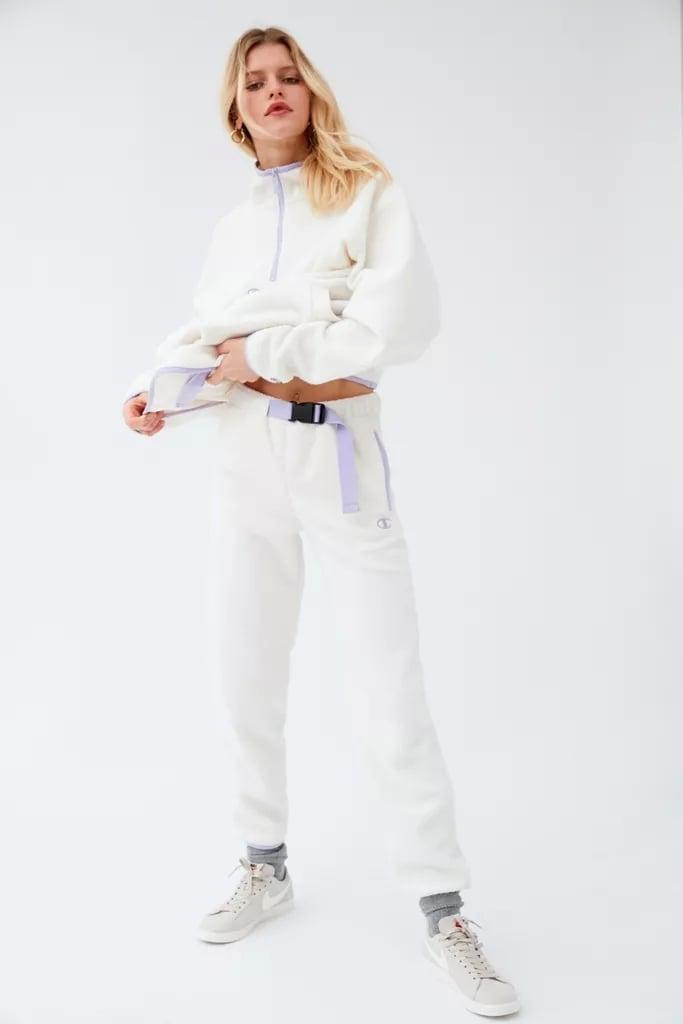 Champion UO Exclusive Polar Fleece Half Zip Sweatshirt