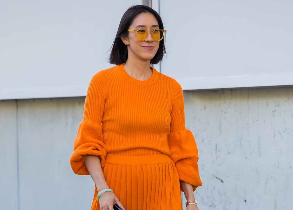 60 + Gorgeous Beauty Street-Style Moments From New York Fashion Week