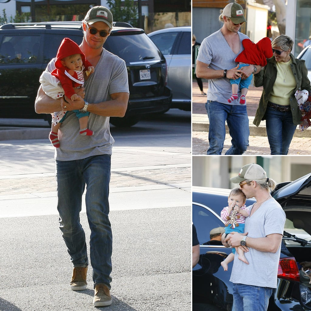 Chris and Elsa Dote on Darling India During LA Lunch Date
