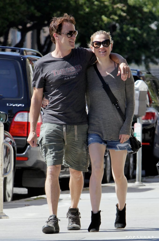 Anna Paquin and Stephen Moyer showed PDA in Santa Monica.