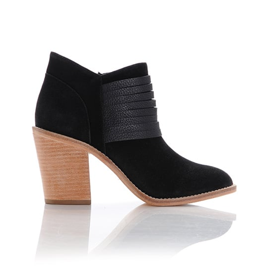 While I may not need another pair of ankle boots, I'm still lusting after Loeffler Randall's Eva Stacked Heel Booties ($395). The leather detail feels special, and I think they'll look great with thick tights and a sweater dress. — Britt Stephens, assistant editor