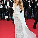 Blake Wearing a Chanel Dress at Cannes in 2014