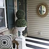 Hanging Mirror Outdoors