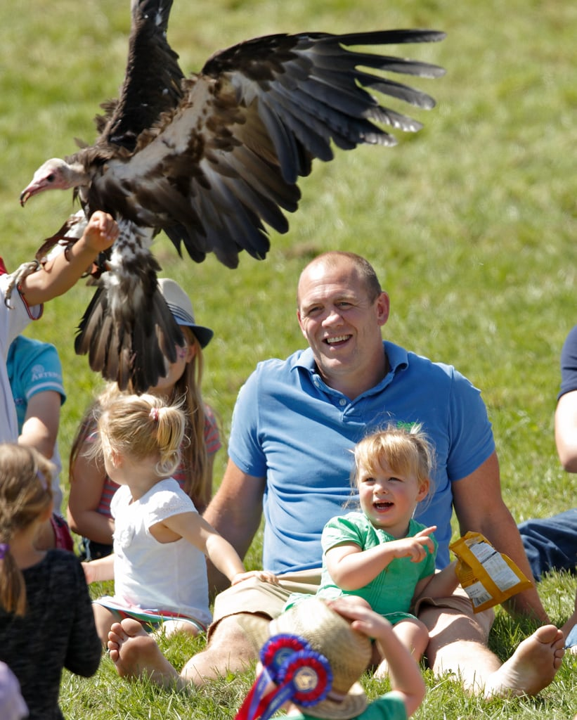 Zara Phillips and Mike Tindall Family Pictures