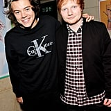 He's BFFs With Ed Sheeran