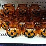 Jack-o'-Lantern Candleholders