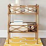 Oriolo Gold Storage Shelves