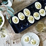 Navy Deviled Egg Platter ($84)