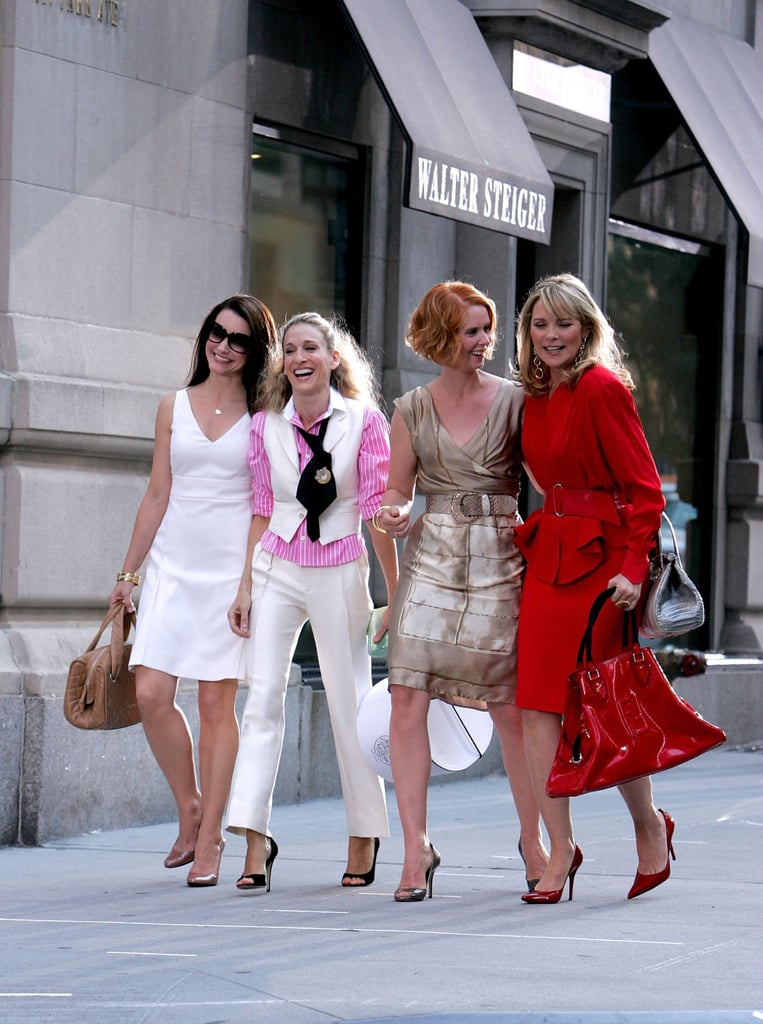 Sarah Jessica Parker and Kim Cattrall Were Made to Love Heels
