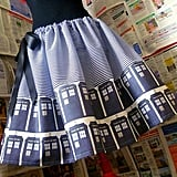 Doctor Who TARDIS Skirt ($66)