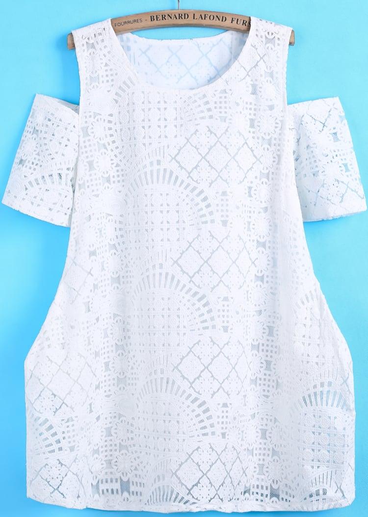 Sheinside Off-the-Shoulder Dress