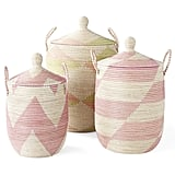 Striped La Jolla Baskets ($78-$168)