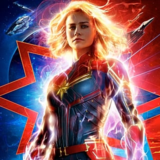 Brie Larson Captain Marvel Interview December 2018