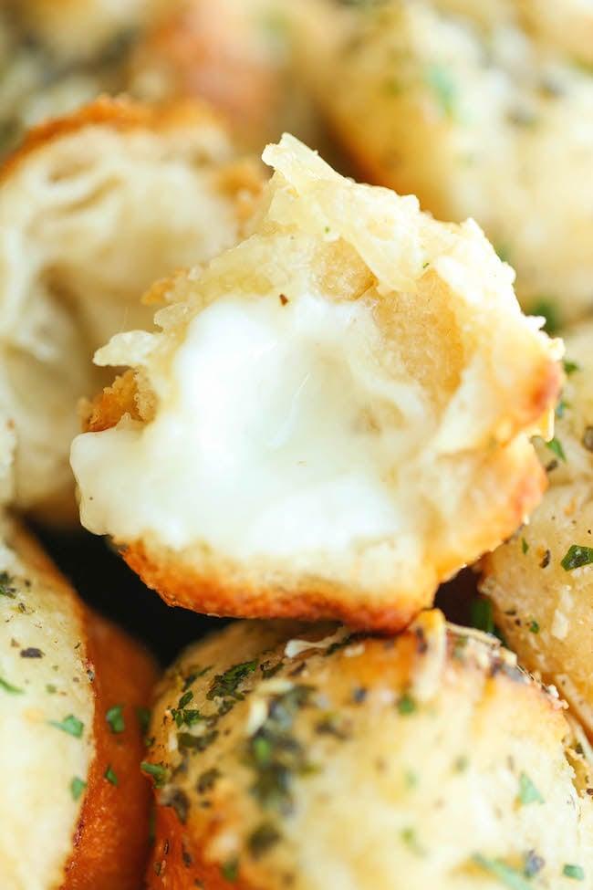 Cheesy Garlic Bombs