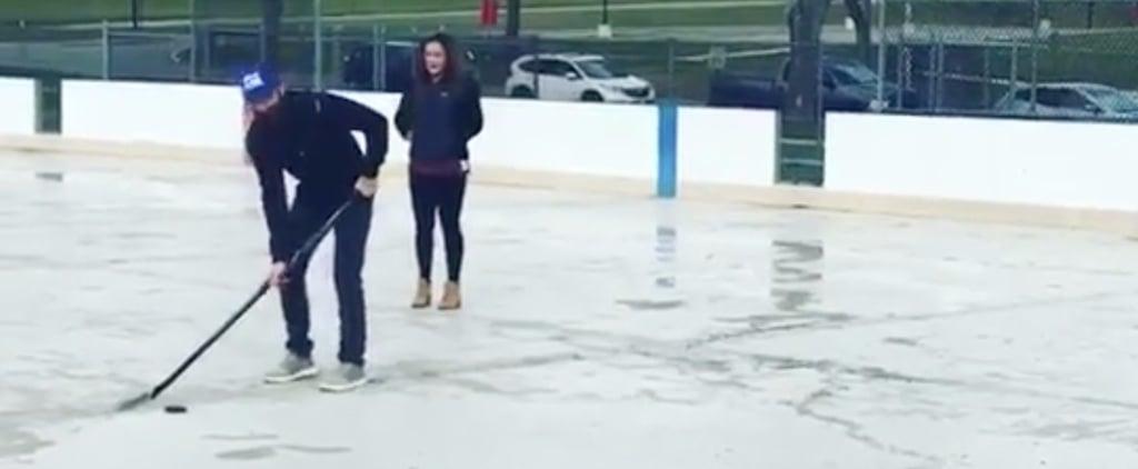 Hockey Gender Reveal