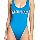 The Bikini Lab One-Piece Swimsuut