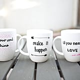 Inspirational Sharpie Mugs