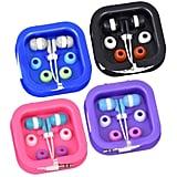 Digital Earbud Earphones With Carrying Cases ($1 each)