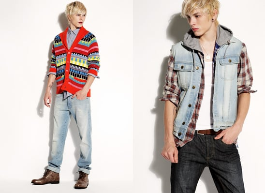 Luke Worrell for New Look Spring 2010 Ad Campaign