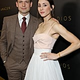 Troian Bellisario Rewore Her Wedding Dress at Golden Globes