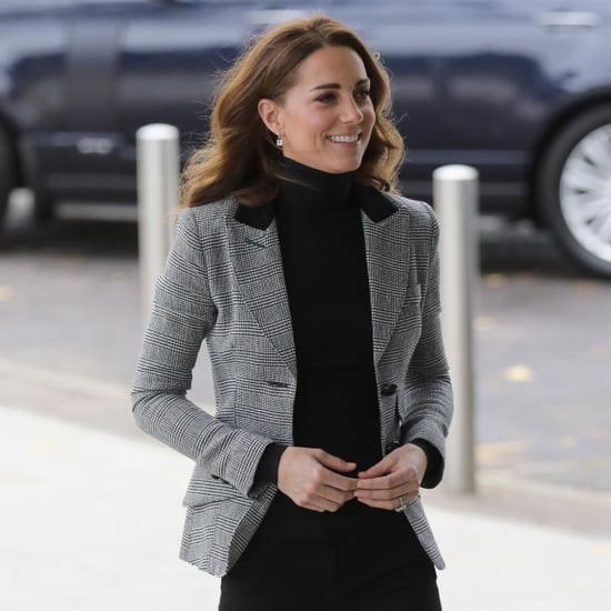 Kate Middleton Smythe Blazer and Skinny Jeans Oct 2018