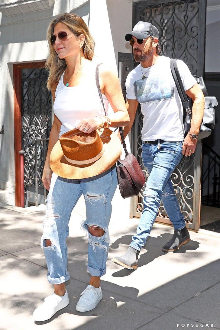Jennifer Aniston Tennis Shoes