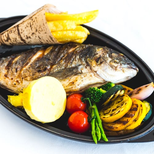 Chargrilled Whole Seabream