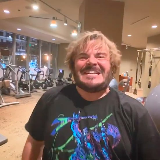 Jack Black Trying Chris Hemsworth's Workout Video