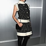 Diane Kruger attended a fashion presentation for Chanel in Paris.