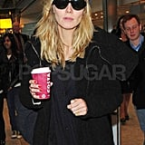 Heidi Klum Stays Polished as She Leaves LA For London