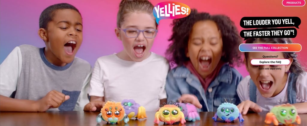Yellies Spider Toys That Respond to Voice
